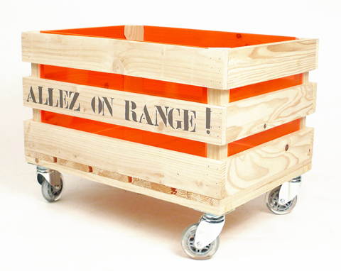 Rangement - Caisse en bois pour rangement ...